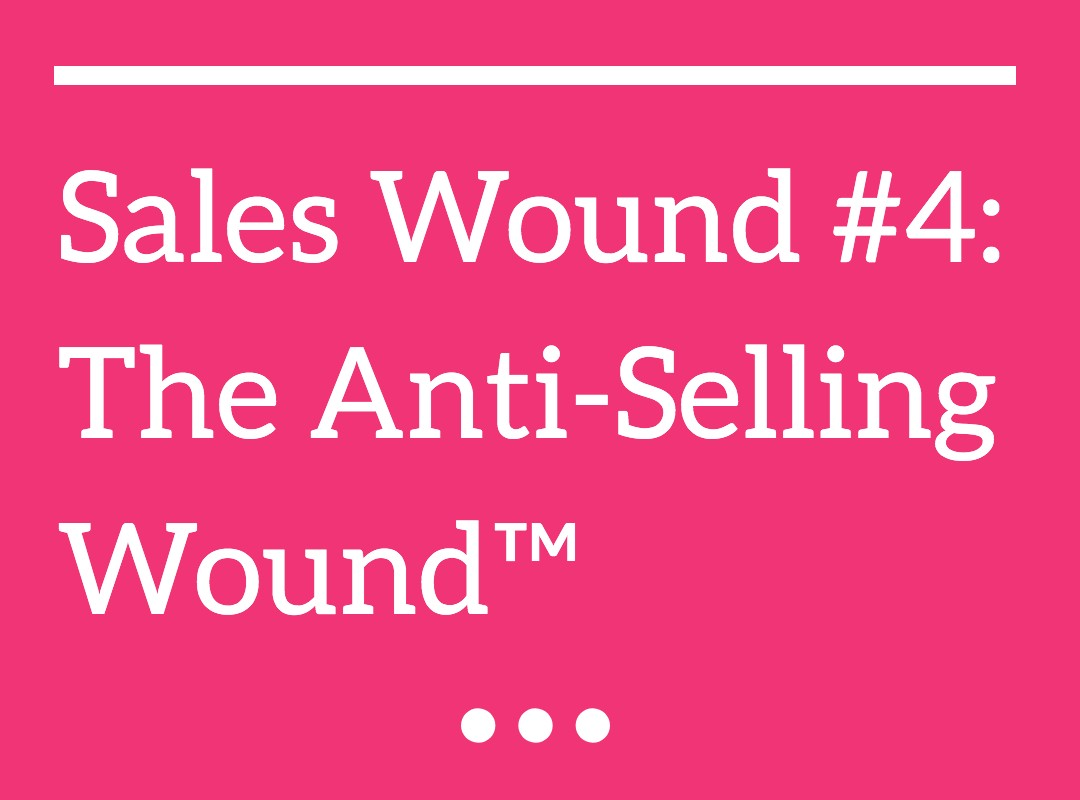 The Anti-Selling Wound™