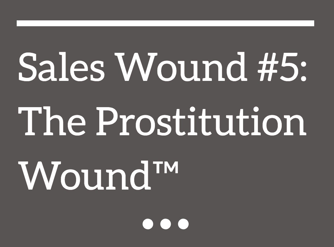 The Prostitution Wound™