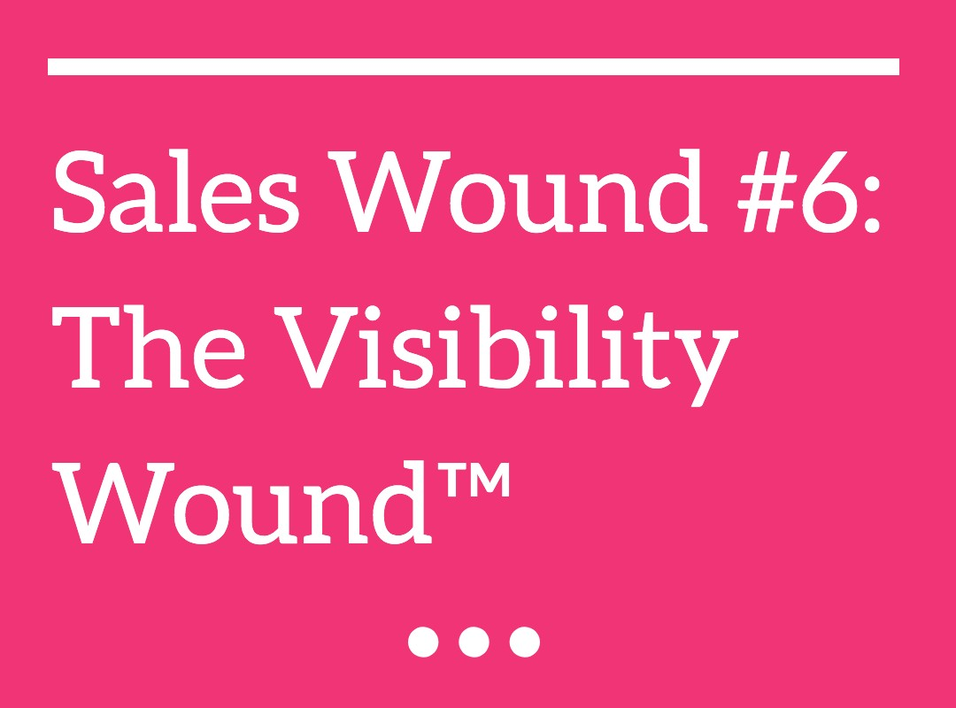 The Visibility Wound™