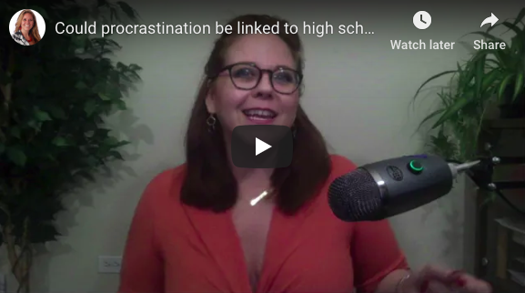 Could procrastination be linked to high school popularity?? – The Visibility Wound™ strikes again!